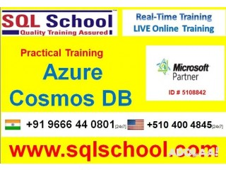 EXCELLENT PROJECT ORIENTED Online REALTIME TRAINING ON Azure Cosmos DB