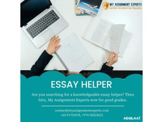 Hire Top Rated Essay Helper in Australia, US and UK