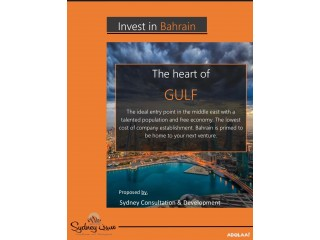 Invest in Bahrain ( The heart of Gulf )
