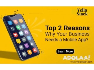Top 2 reasons why your business needs a mobile app?