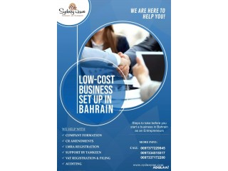 Low cost business setup in Bahrain