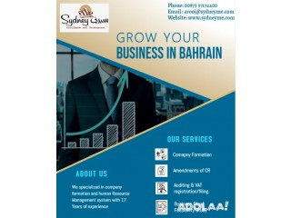 Company formation in Bahrain with free consultation