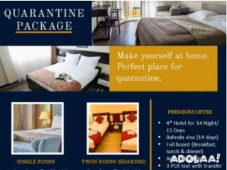 Quarantine package in BAHRAIN