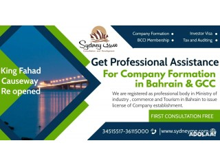 Company formation in Bahrain and GCC