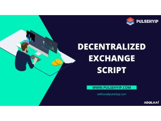 Acquire Readymade Decentralized Exchange Script from Pulsehyip