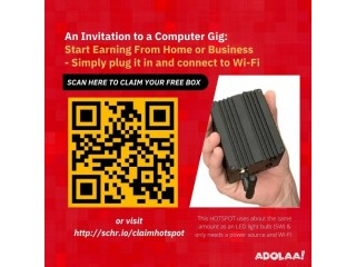 Get Paid To Host a Little Hotspot & Earn Money From Home/Business