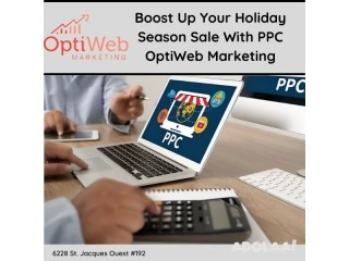 Boost Up Your Holiday Season Sale With PPC - OptiWeb Marketing