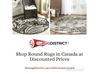 Shop Round Rugs on sale | The Rug District