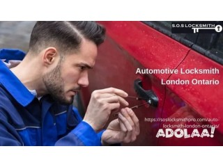 S.O.S. Locksmith offers one of the most reliable and efficient auto locksmith services in the London Ontario area