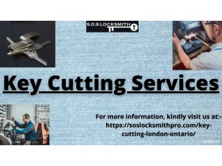 S.O.S. Locksmith is the name you can trust when you need best key cutting services