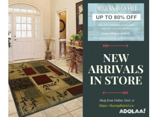 New Arrivals of Area Rugs for Sale at up to 80% Off