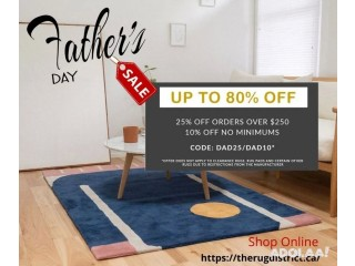 Father's Day Sale for Designer Rugs in Canada