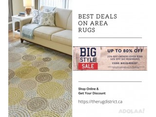 Big Style Sale with Up to 80% Off on Designer Rugs- Shop Now!