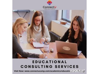 Educational Consulting Services By ConnectU Camp