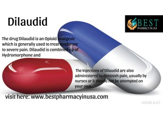 Get 20% off Buy Dilaudid Online Without Prescription