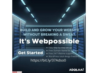 Build and Grow Your website