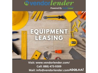 Contact Best Equipment Leasing Finance Company in Canada | Vendor Lender