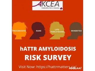 Fill This Form To Know if you are at risk for hATTR amyloidosis