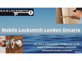 S.O.S. Locksmith is offering potentially the best mobile locksmith London Ontario service