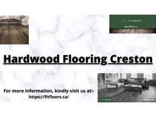 When it comes to best hardwood flooring Creston, then Fit Floors is the leading provider in Canada