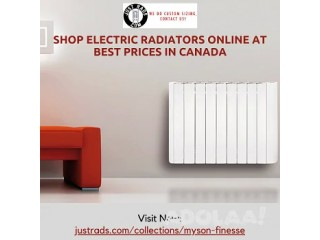 Shop Electric Radiators Online at Best Prices in Canada