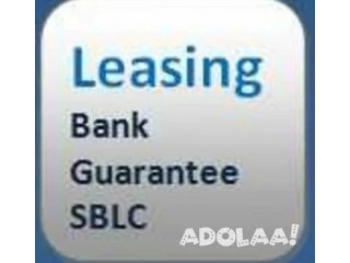 We provide genuine BG and SBLC for Lease and Sales.
