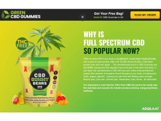 What Are The Ingredients Mixed In Green CBD Gummies?