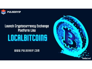 Just one step away to launch your Crypto Exchange like LocalBitcoins!