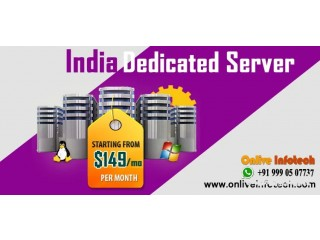 India Dedicated Server With Free Features - Onlive Infotech