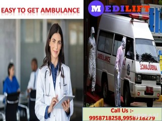 Reserve Medilift Ambulance Service in Ranchi with Low Priced