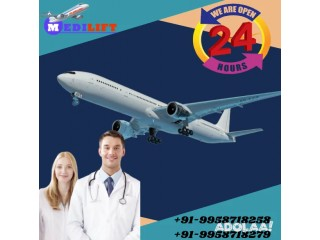 Minimize your Suffering with Medilift Air Ambulance in Ranchi