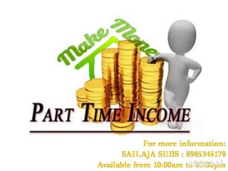 Need not to run with the work just sit in the home and earn the success via Sebs part time jobs