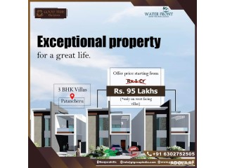 Independent Houses in Patancheru | Good Time Builders