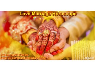 Acknowledged Love Marriage Horoscope Guaranteed Predictions