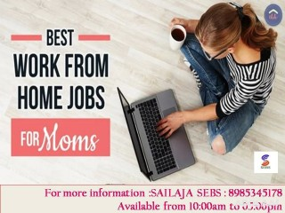 Work in your flexible times from Home & Earn the more income