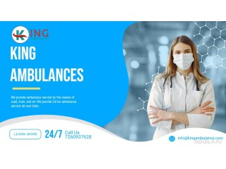 Affordable King Ground Ambulance Service in Ranchi with Advanced Medical Facilities