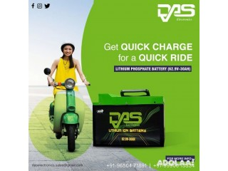 Buy a lithium ion battery for an electric scooter at an affordable price