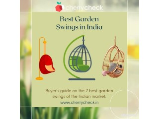 Best quality garden swing chairs of 2021