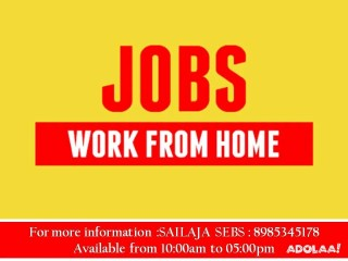 Part time jobs inviting to earn more income from anywhere