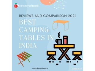 Best camping tables in India