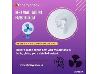 Best wall mounted fans in India 2021