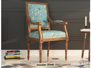 Enjoy amazing discount on antique chairs at Wooden Street