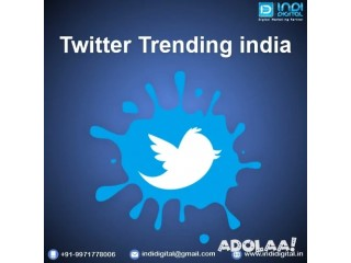 Get affordable and best Twitter Trending service in india