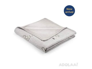 Organic Cotton Winter Blanket   Giraffe Patterned   Up to 49% Off*