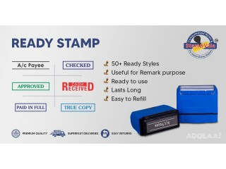 Prevail 23% Discount on Top Quality Ready Made Stock Rubber Stamps from Stamp Vala