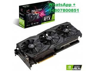 ASUS Republic of Gamers Strix GeForce RTX 2060 Gaming OC Graphics