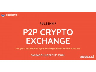 P2P Cryptocurrency Exchange | Cryptocurrency Exchange Development | Pulsehyip
