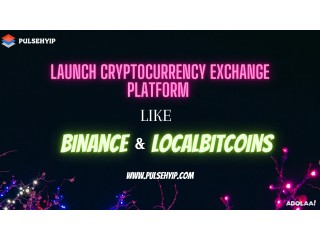 Start your Own Crypto Exchange like Binance and Localbitcoins