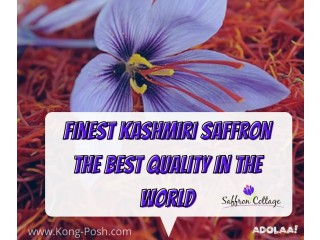Saffron Field Of Kashmir !