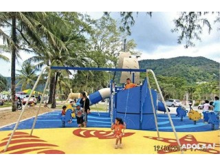 Outdoor Children's Playground Equipment Suppliers in Malaysia